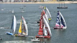 Jun 06, 2015. June 06, 2015. InPort Race Lisbon Start. Credit Ricardo Pinto / Volvo Ocean Race