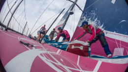 June 7, 2015. Leg 8 to Lorient onboard Team SCA. Day 0.  Anna-Lena Elled / Team SCA / Volvo Ocean Race