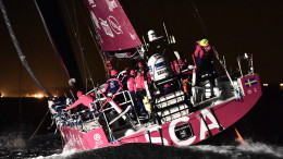 June 11, 2015. Team SCA wins Leg 8 from Lisbon to Lorient  Ricardo Pinto / Volvo Ocean Race