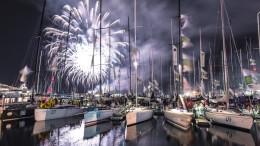 NEW YEARS EVE FIREWORKS IN HOBART Photo by: Rolex / Kurt Arrigo