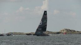 Land Rover BAR team  the Louis Vuitton America's Cup World Series