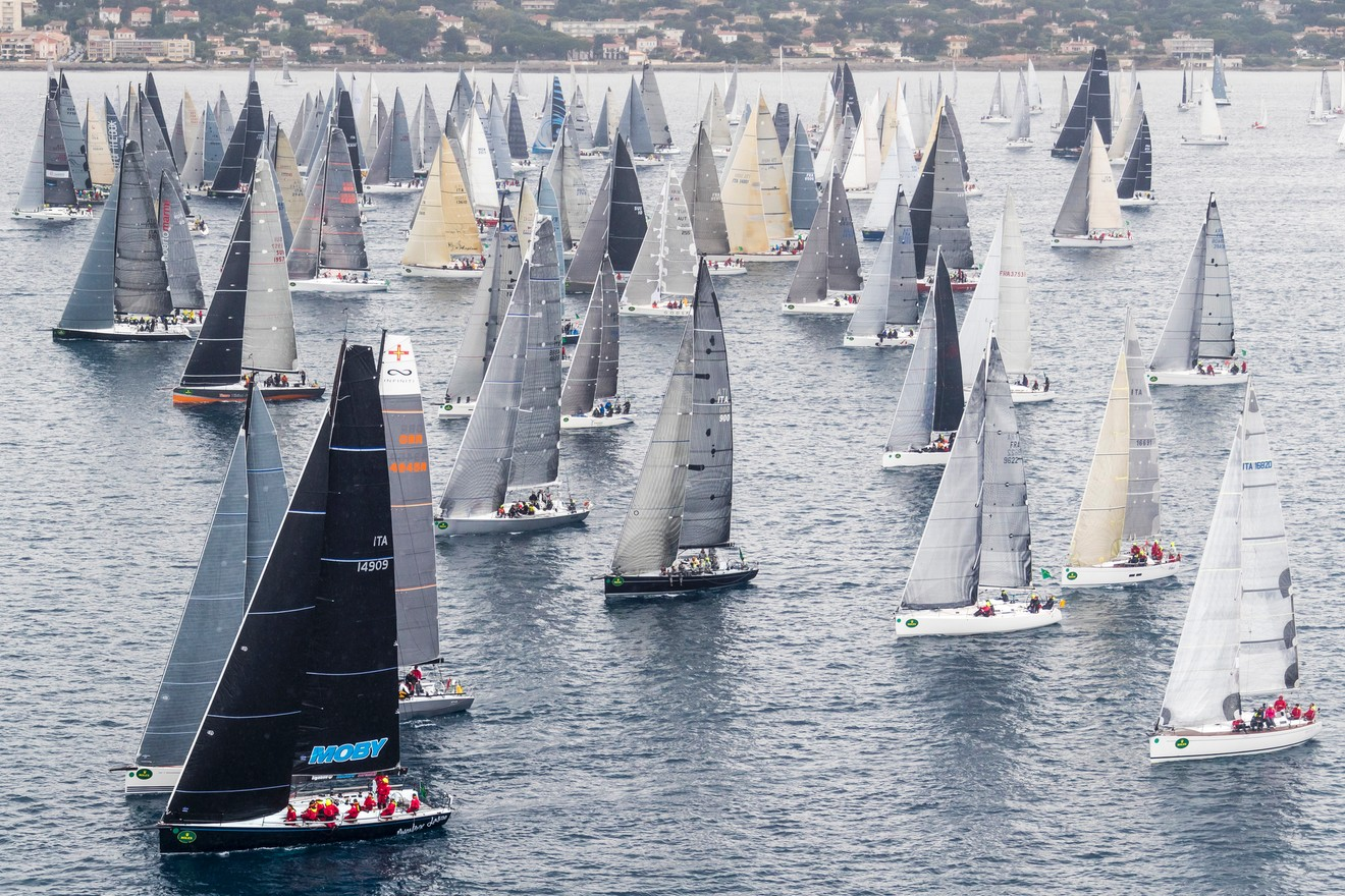 268 YACHTS ARE COMPETING IN THE HISTORIC OFFSHORE RACE FIRST HELD IN 1953 ©Rolex/Carlo Borlenghi
