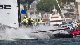 31th May 2016. World Match Racing Tour Newport  COPYRIGHT© Ian Roman