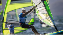 Charline Picon (FRA) has won gold in the Women's Windsurfer (RS:X) after the most tense and exciting Medal Race ever seen in Olympic sailing The Rio 2016 Olympic Sailing Competition  ©Sailing Energy / World Sailing