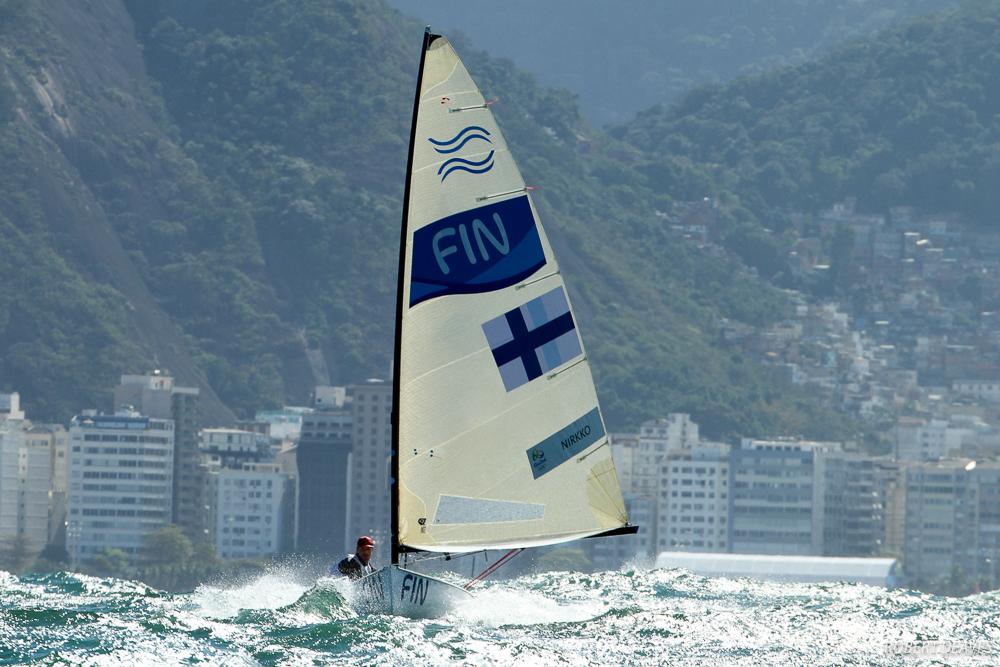 Rio de Janeiro 2016 Finn Class Photo (C) Robert Deaves