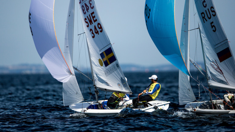 Aarhus, Denmark is hosting the 2018 Hempel Sailing World Championships from 30 July to 12 August 2018. More than 1,400 sailors from 85 nations are racing across ten Olympic sailing disciplines as well as Men's and Women's Kiteboarding.  40% of Tokyo 2020 Olympic Sailing Competition places will be awarded in Aarhus as well as 12 World Championship medals. ©PEDRO MARTINEZ/SAILING ENERGY/AARHUS 2018 07 August, 2018.