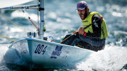 Aarhus, Denmark is hosting the 2018 Hempel Sailing World Championships from 30 July to 12 August 2018. More than 1,400 sailors from 85 nations are racing across ten Olympic sailing disciplines as well as Men's and Women's Kiteboarding.  40% of Tokyo 2020 Olympic Sailing Competition places will be awarded in Aarhus as well as 12 World Championship medals. ©PEDRO MARTINEZ/SAILING ENERGY/AARHUS 2018 10 August, 2018.