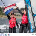 Aarhus, Denmark is hosting the 2018 Hempel Sailing World Championships from 30 July to 12 August 2018. More than 1,400 sailors from 85 nations are racing across ten Olympic sailing disciplines as well as Men's and Women's Kiteboarding.  40% of Tokyo 2020 Olympic Sailing Competition places will be awarded in Aarhus as well as 12 World Championship medals. ©JESUS RENEDO/SAILING ENERGY/AARHUS 2018 11 August, 2018.